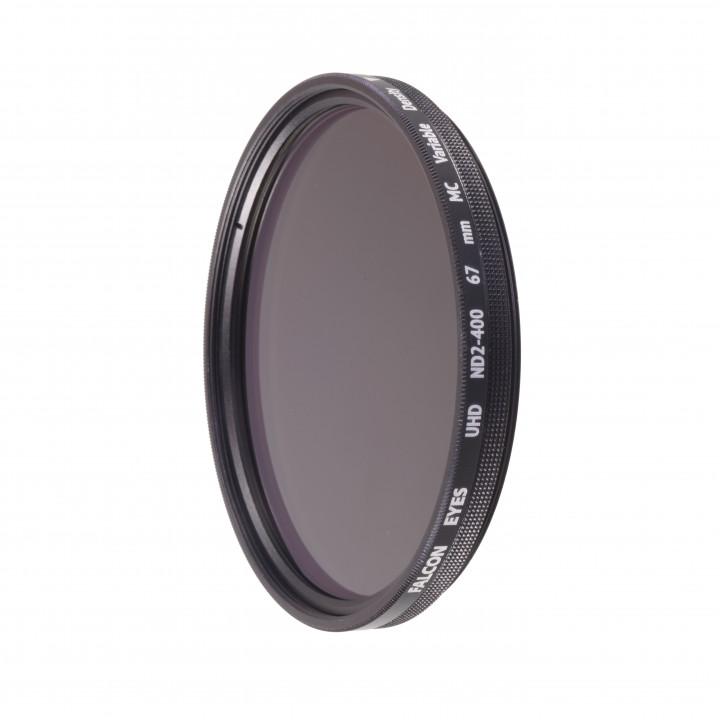 Светофильтр Falcon Eyes UHD ND2-400 67 mm MC нейтрально-серый с переменной плотностью
