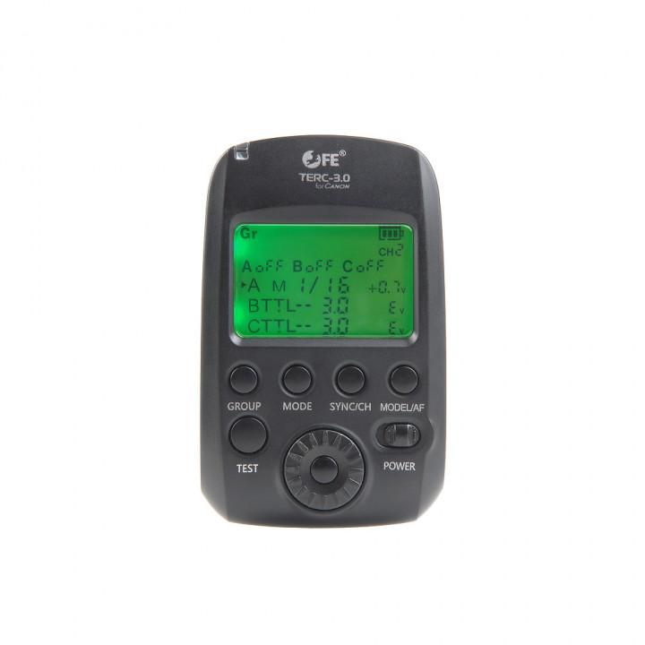 Пульт-радиосинхронизатор Falcon Eyes TERC-3.0 LCD для Canon