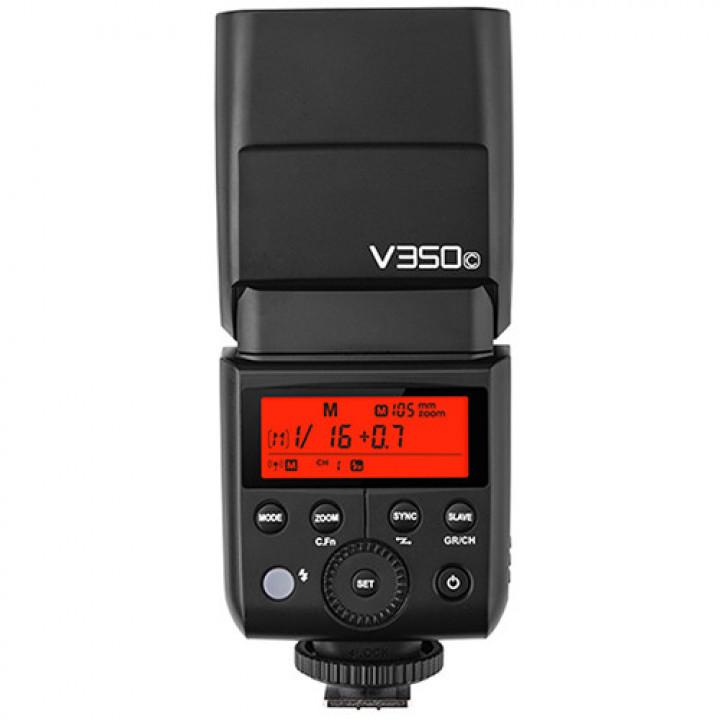 Вспышка накамерная Godox Ving V350C TTL аккумуляторная для Canon
