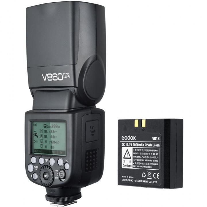 Вспышка накамерная Godox Ving V860IIO TTL для Olympus/Panasonic