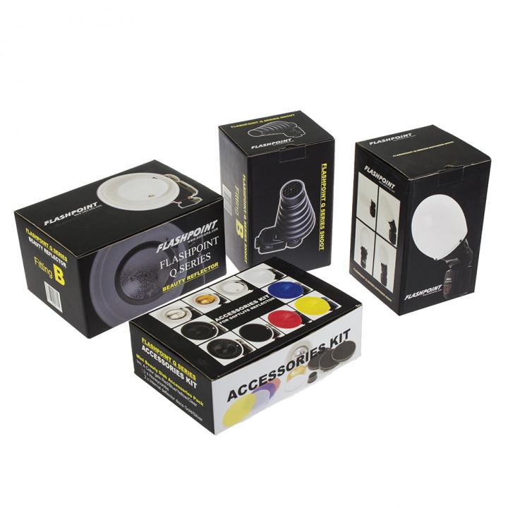 Комплект насадок Falcon Eyes FGA-K9 для накамерных вспышек