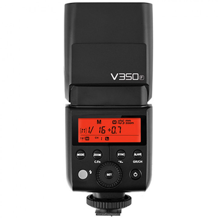 Вспышка накамерная Godox Ving V350F TTL аккумуляторная для Fujifilm