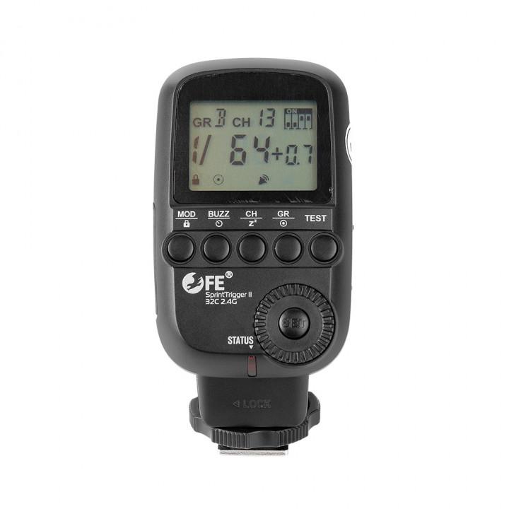 Радиосинхронизатор Falcon Eyes SprintTrigger II 32C 2.4G для Canon
