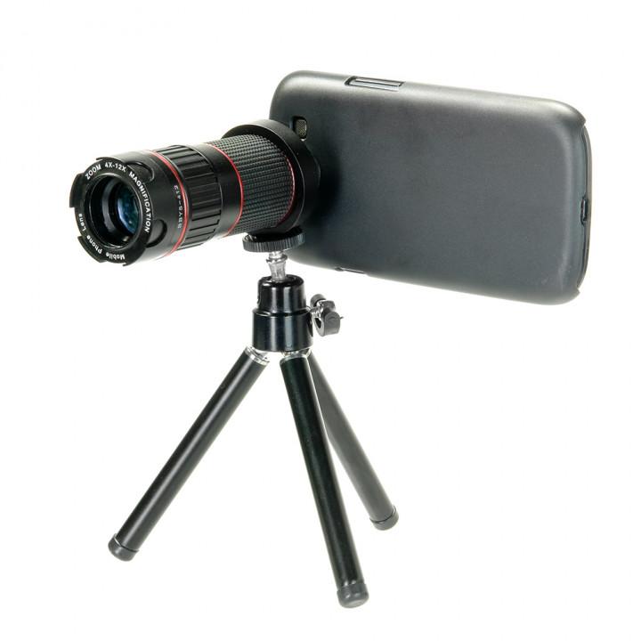 Телеобъектив iMate iZoom 4-12x для смартфонов Samsung