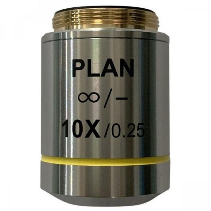 Объектив планахроматический Levenhuk MED 10x/беск
