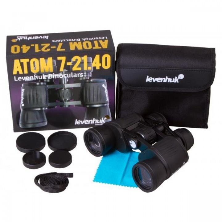Бинокль Levenhuk Atom 7–21x40