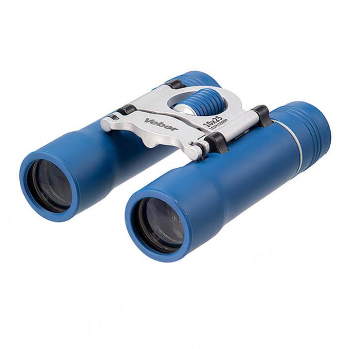 Бинокль Veber Sport new БН 10×25 синий/серебристый