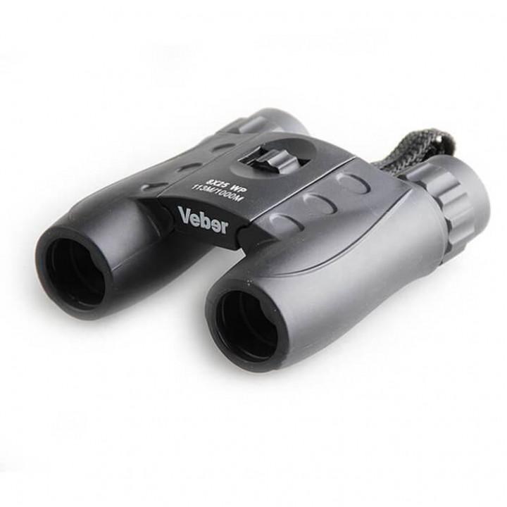 Бинокль Veber WP 8×25 черный