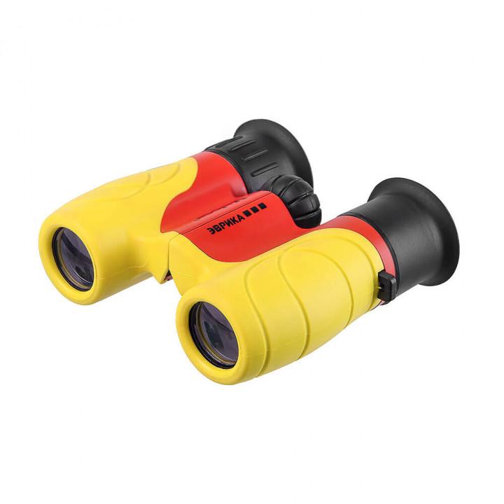 Бинокль детский Veber Эврика 6×21 Y/R