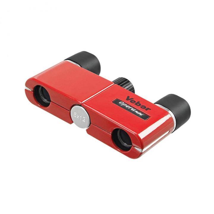 Бинокль Veber Opera mini 5×12 Red