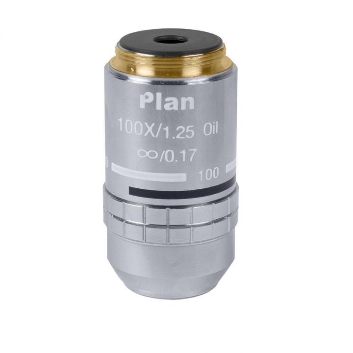 Объектив для микроскопа 100х/1,25ми Plan Л беск./0,17 (для Микромед 3 ЛЮМ)