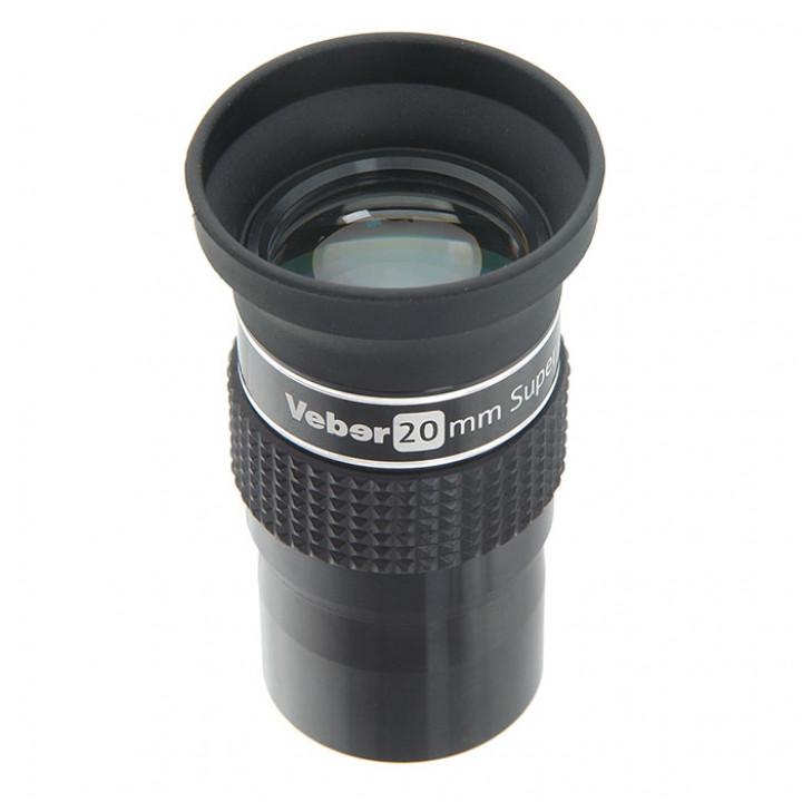 Окуляр для телескопа Veber 20mm SWA ERFLE 1,25